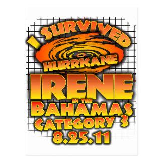 Hurricane Irene - Bahamas Postcard