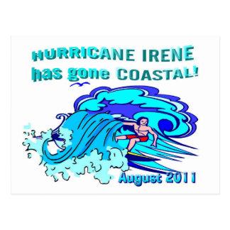 """Hurricane Irene"" coastal collection Post Cards"