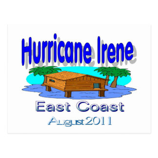 Hurricane Irene East Coast Collection Post Cards