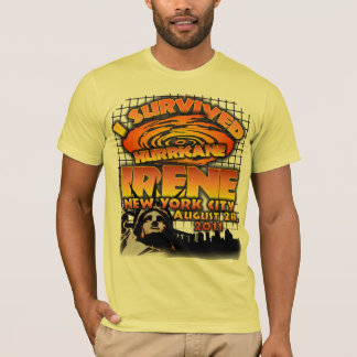 Hurricane Irene, New York City T-Shirt