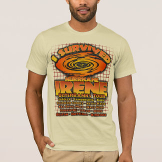 Hurricane Irene, Outer Banks, North Carolina T-Shirt