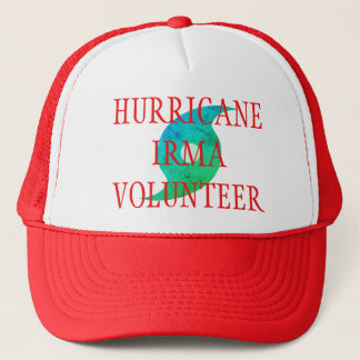HURRICANE IRMA VOLUNTEER Florida Disaster Hat