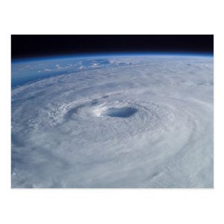 Hurricane Isabel from Space Postcard