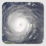 Hurricane Isabel Square Sticker