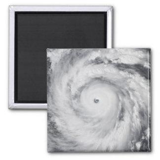 Hurricane Jangmi Magnet