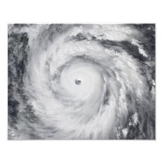 Hurricane Jangmi Photo Print