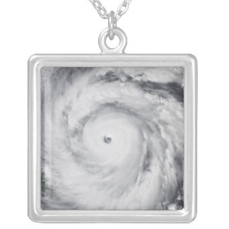 Hurricane Jangmi Silver Plated Necklace