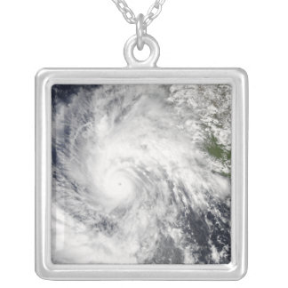 Hurricane Jimena Silver Plated Necklace
