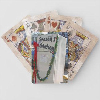 Hurricane Katrina Holiday Poker Cards
