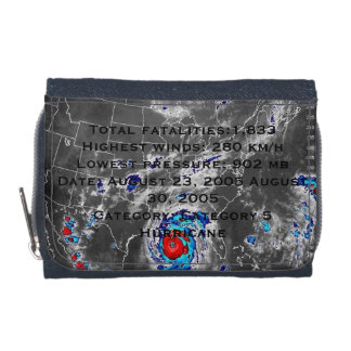 Hurricane Katrina memorial wallet