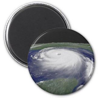 Hurricane Katrina Satellite image 6 Cm Round Magnet
