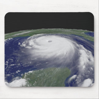 Hurricane Katrina Satellite image Mouse Pad