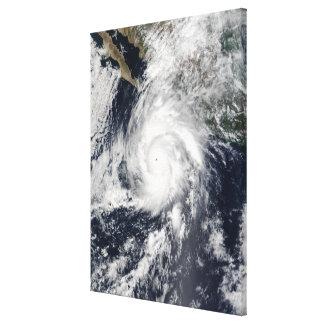 Hurricane Kenna Canvas Print