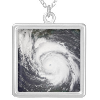 Hurricane Lili 5 Silver Plated Necklace