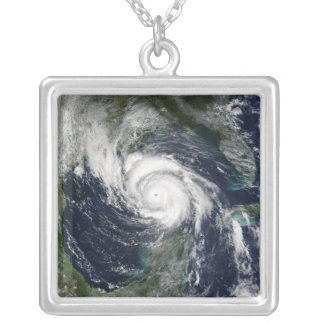 Hurricane Lili Silver Plated Necklace