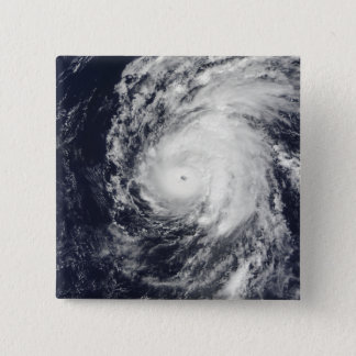 Hurricane Neki west of Hawaii 15 Cm Square Badge
