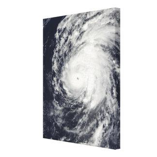 Hurricane Neki west of Hawaii Canvas Print