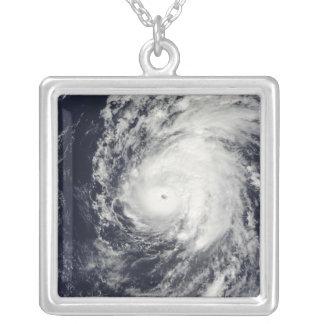 Hurricane Neki west of Hawaii Silver Plated Necklace