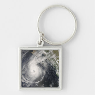 Hurricane Norbert off Mexico 2 Key Ring