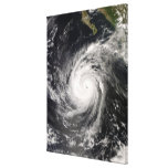 Hurricane Norbert off Mexico Stretched Canvas Print