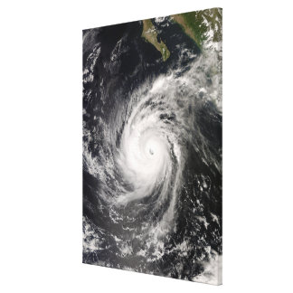 Hurricane Norbert off Mexico Canvas Print