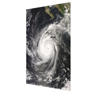Hurricane Norbert off Mexico Canvas Print