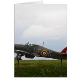 Hurricane Ready For Takeoff Card