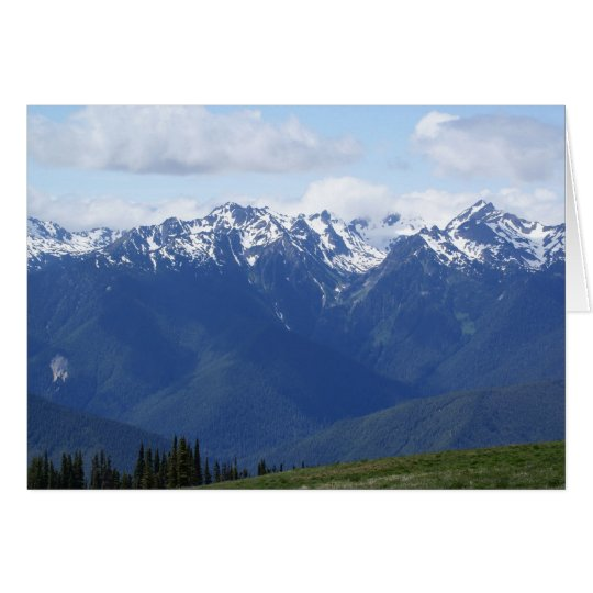 Hurricane Ridge II Card