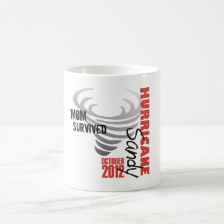 Hurricane Sandy 2012 Basic White Mug