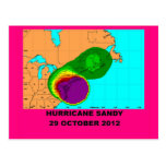 Hurricane Sandy 29 October 2012 Postcards