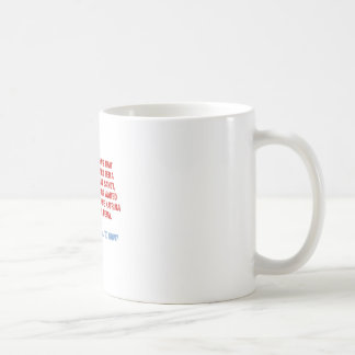 Hurricane Sandy and Katrina Politics Coffee Mug