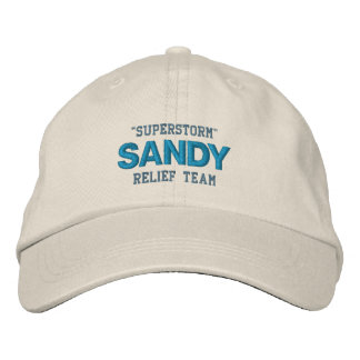 HURRICANE SANDY cap Embroidered Hat