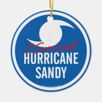 Hurricane Sandy Christmas Ornament
