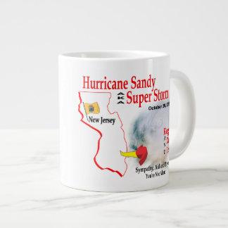 Hurricane Sandy Super Storm Regroup Repair Rebuild Jumbo Mug
