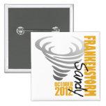 Hurricane Sandy Survivor 2012 15 Cm Square Badge