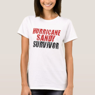 Hurricane Sandy Survivor Distressed Shirt