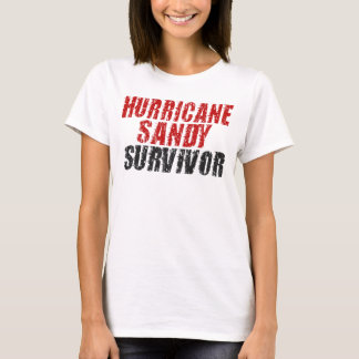 Hurricane Sandy Survivor Distressed Spaghetti Tank