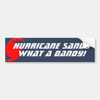 Hurricane Sandy - What a Dandy! Bumper Sticker