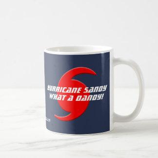 Hurricane Sandy - What a Dandy! Basic White Mug