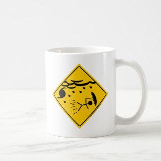 Hurricane Weather Warning Merchandise and Clothing Coffee Mug
