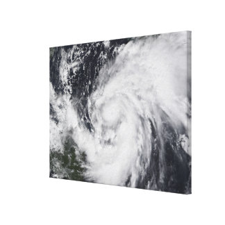Hurricane Wilma in the Atlantic and Caribbean Canvas Print