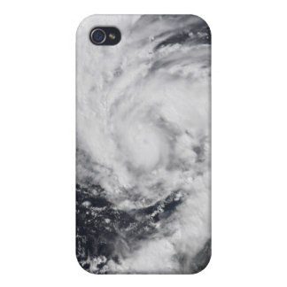 Hurricane Wilma in the Atlantic and Caribbean iPhone 4/4S Cover