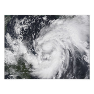 Hurricane Wilma in the Atlantic and Caribbean Photo Print