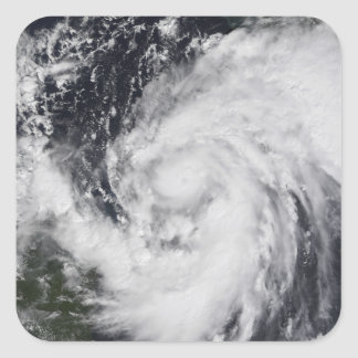 Hurricane Wilma in the Atlantic and Caribbean Square Sticker