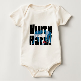 Hurry Hard! curling Baby Bodysuit