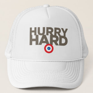 """Hurry Hard"" Trucker Hat"