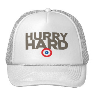 """Hurry Hard"" Trucker Hat"