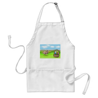 hurry up bunny standard apron