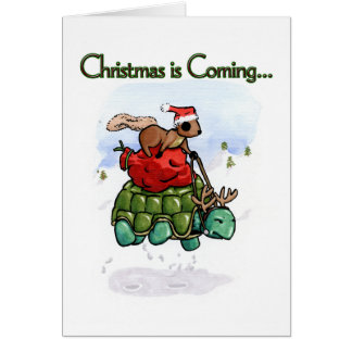 Hurrying for the Holidays Note Card