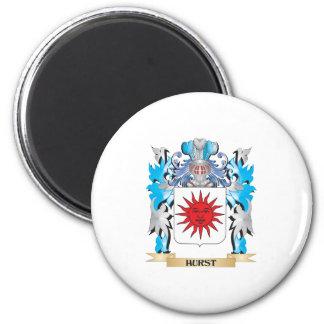 Hurst Coat of Arms - Family Crest Fridge Magnets